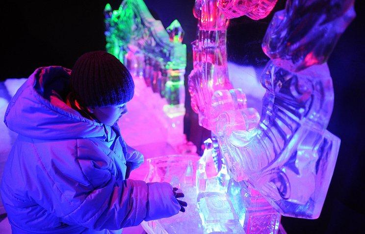 Новогодний фестиваль «Ледовая Москва. Вкругу семьи» 2016