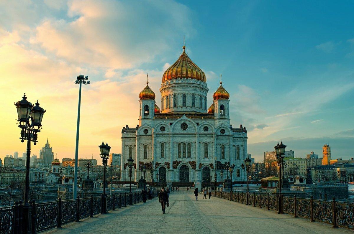 Картинки храма христа спасителя москва