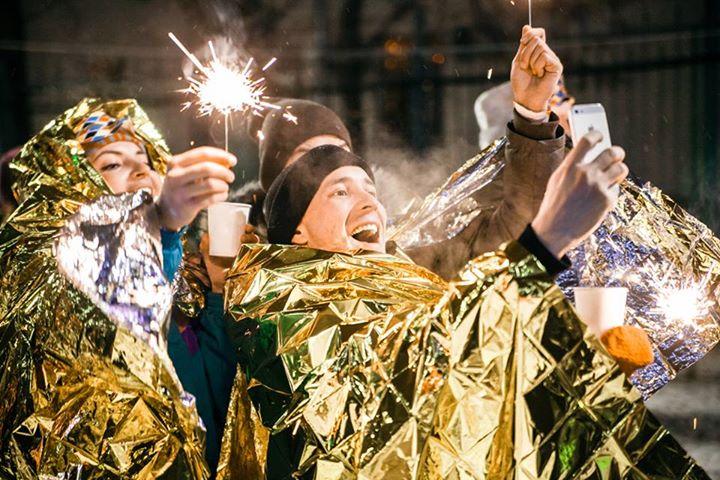 Новогодняя ночь 2019 вСаду им. Баумана