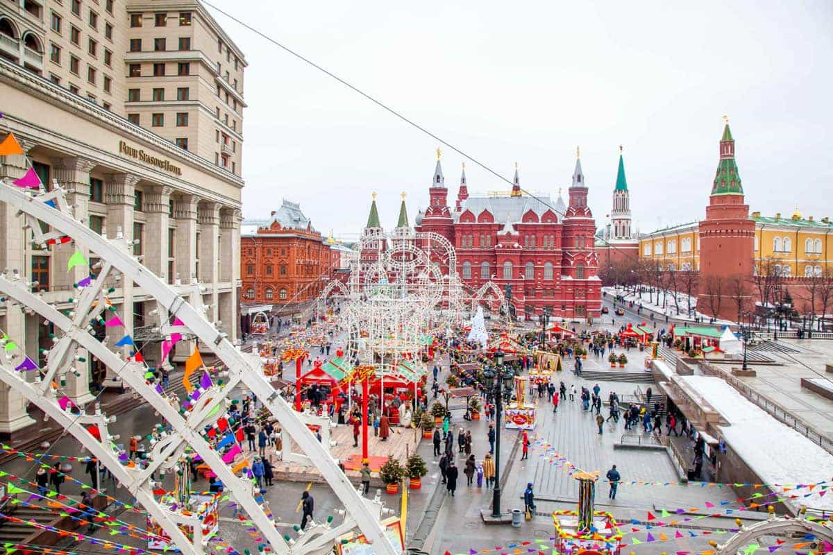 Фестиваль «Московская Масленица» 2018