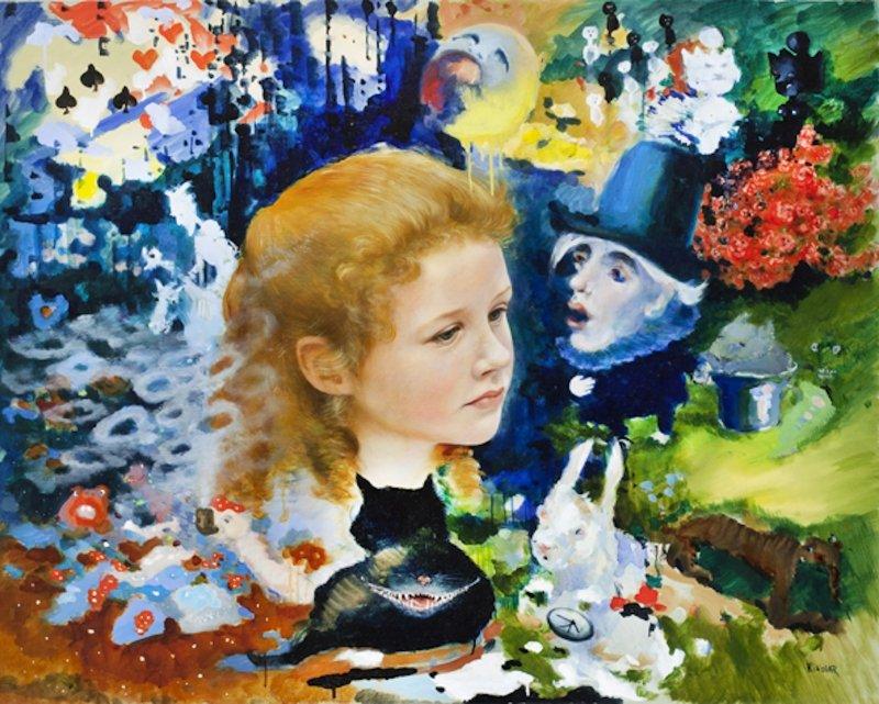 Е. А. Петрова. Алиса. 2014. Холст, масло. Москва