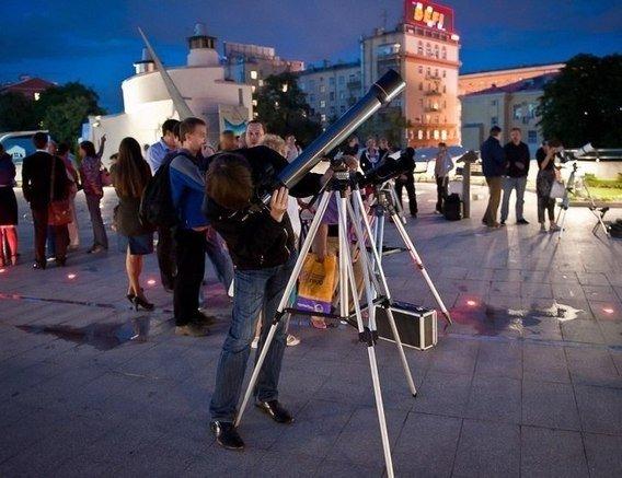 Бесплатные астрономические наблюдения вМосковском Планетарии