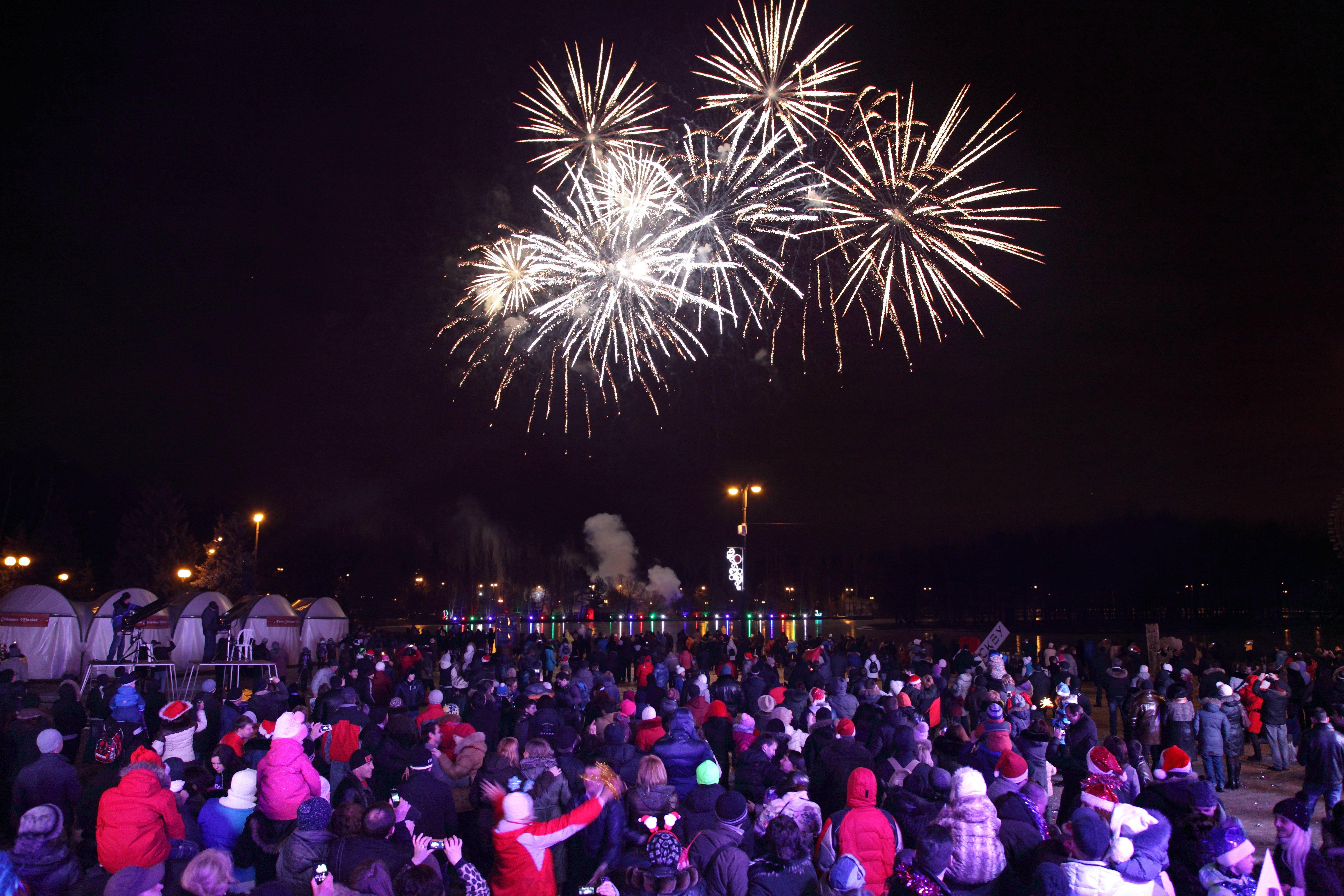 Новогодняя ночь 2016 вИзмайловском парке