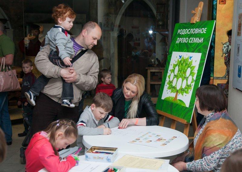 Международный день семьи вДарвиновском музее 2016