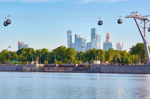 Канатная дорога в Москве