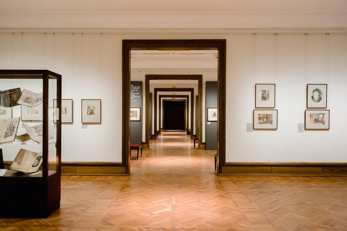 Выставка «Пора перемен. Графика 1860-х годов изсобрания Третьяковской галереи»