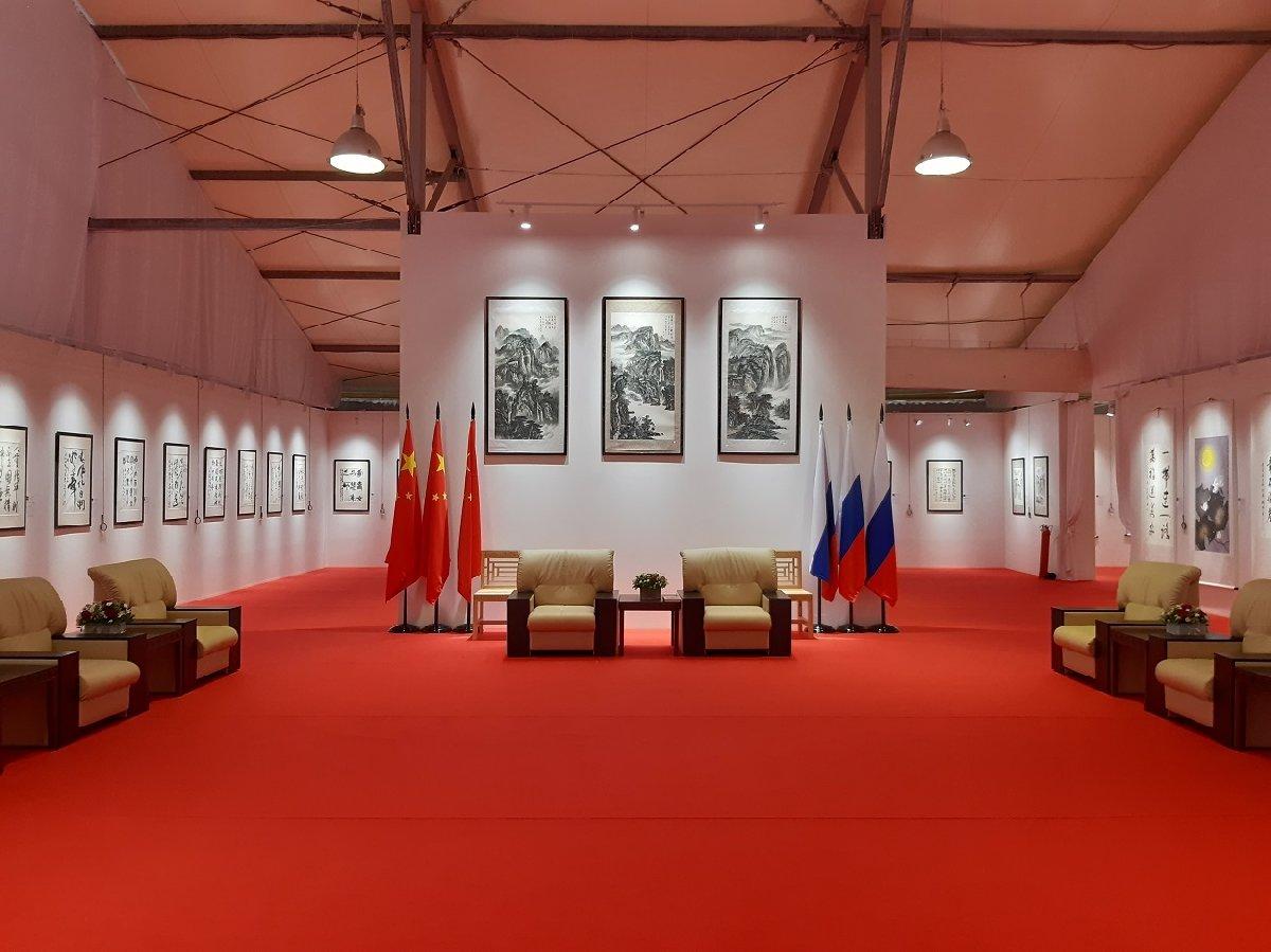 Выставка «Великая китайская каллиграфия иживопись»