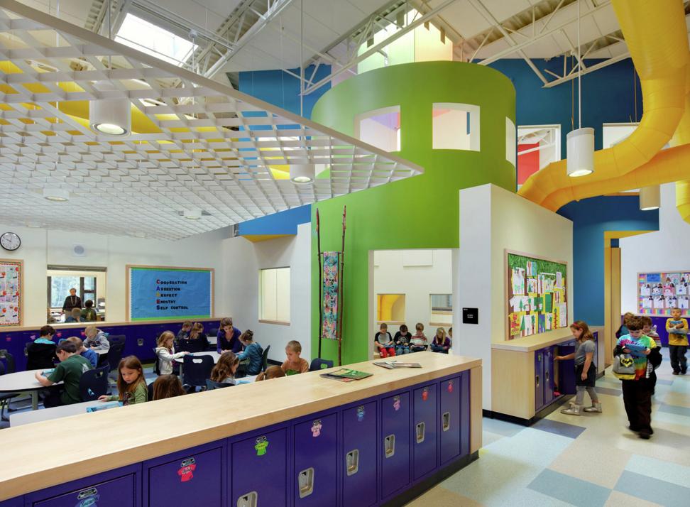 Школа в Конкорде (Нью Гемпшир, США)