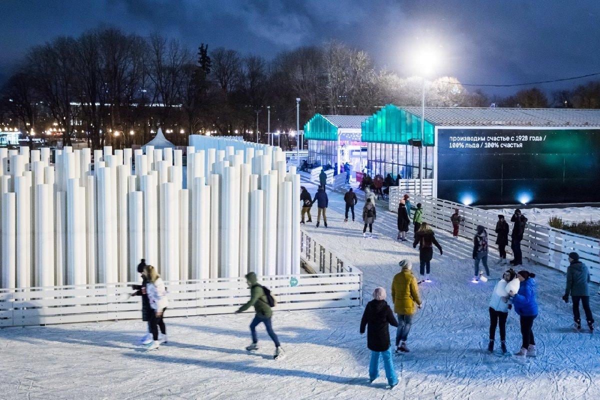 Новогодняя ночь 2019 вПарке Горького