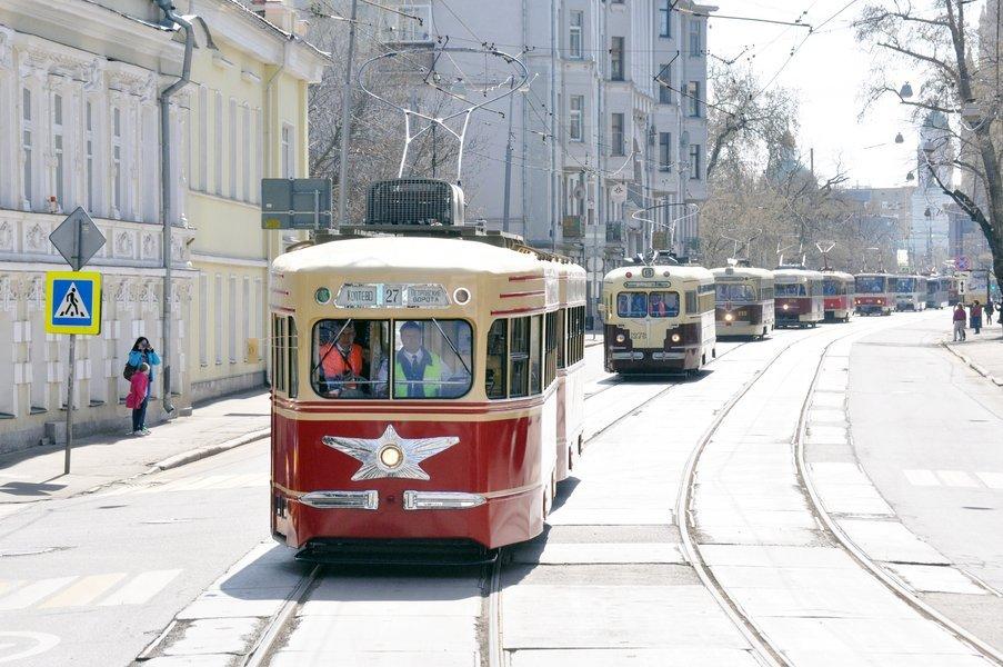 Праздничный парад трамваев 2019