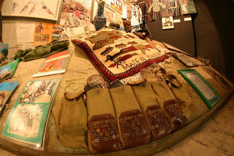 Выставочный зал истории войны вАфганистане
