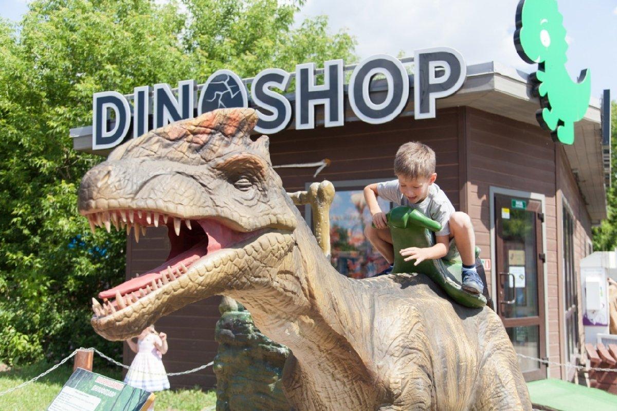 Магазин Dinoshop впарке «Сказка»