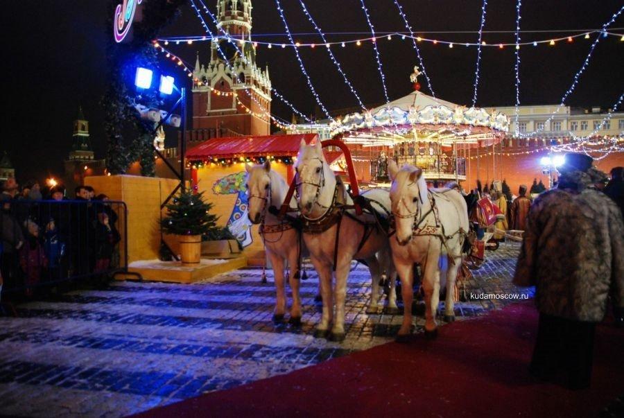 Рождественская ярмарка наКрасной площади