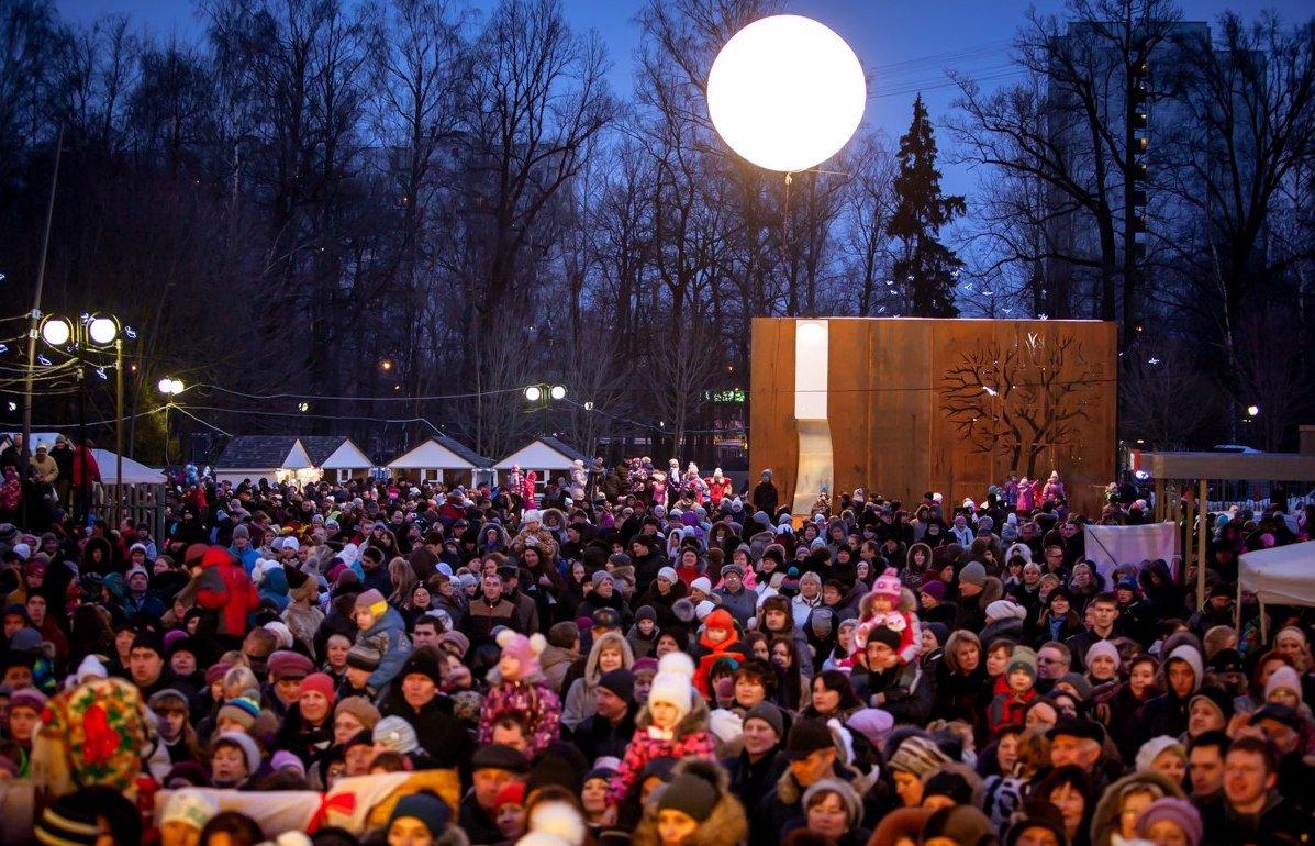 Открытие зимнего сезона вЛианозовском парке 2015