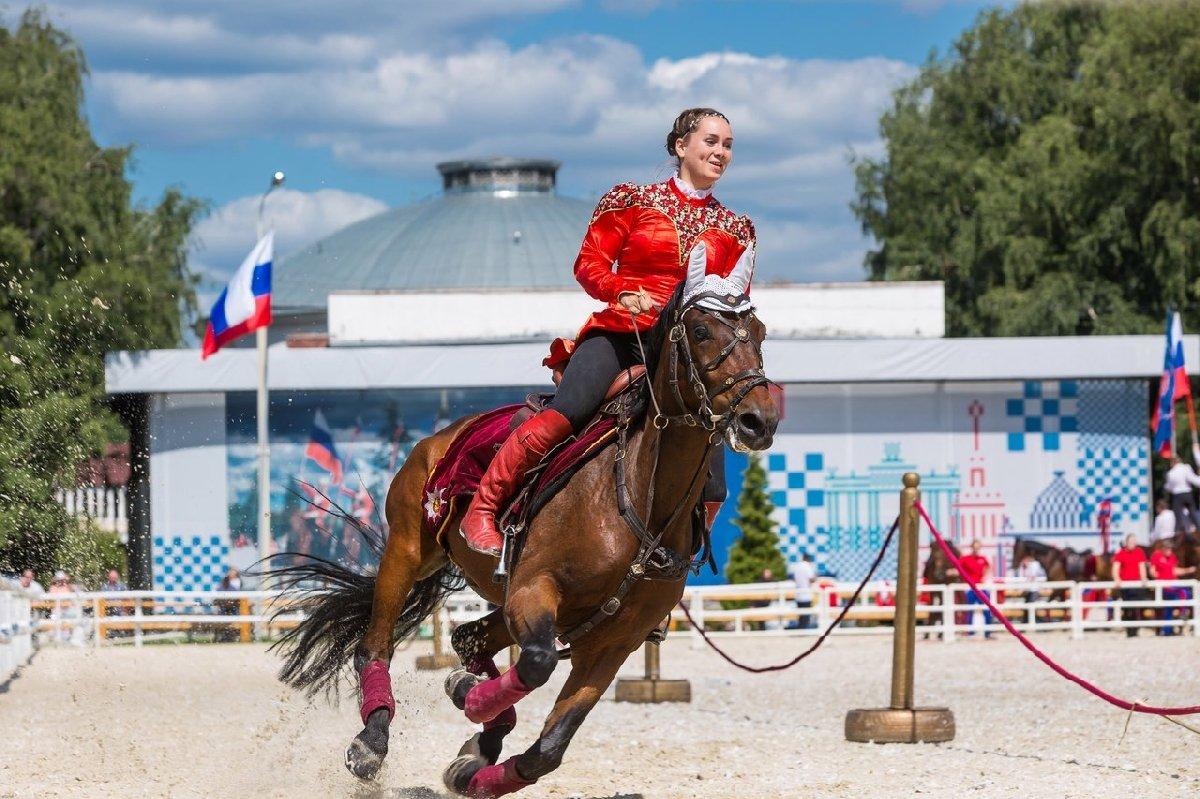Московский фестиваль конного искусства испорта 2017