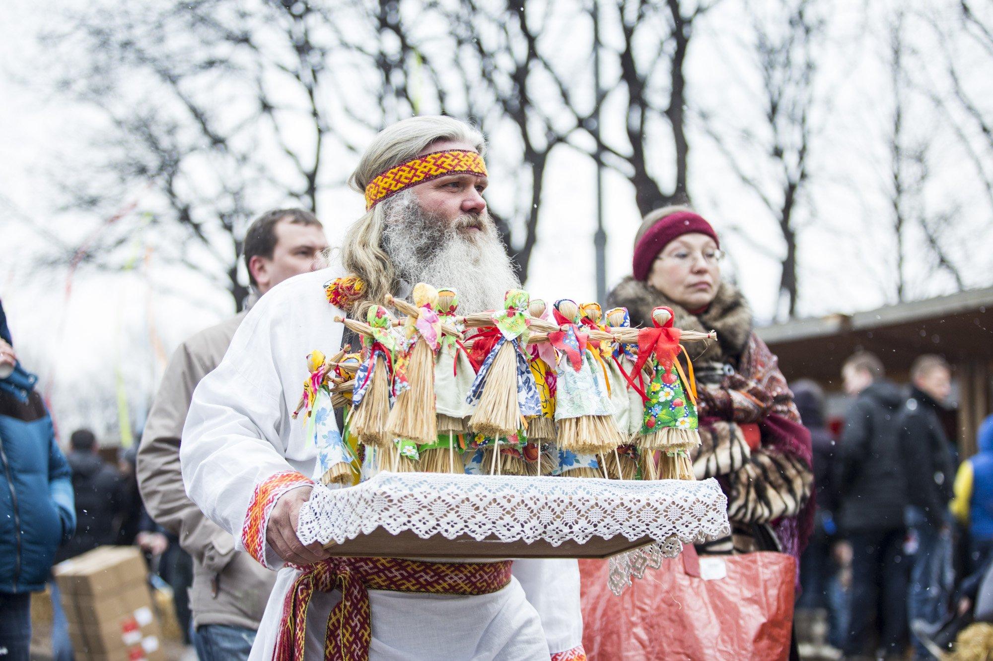 Масленица вПарке Горького