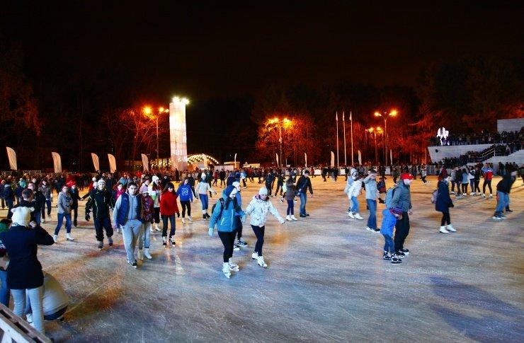 Открытие зимнего сезона впарке «Сокольники» 2015