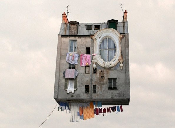 Выставка «Воздушные миры Лорана Шеера»