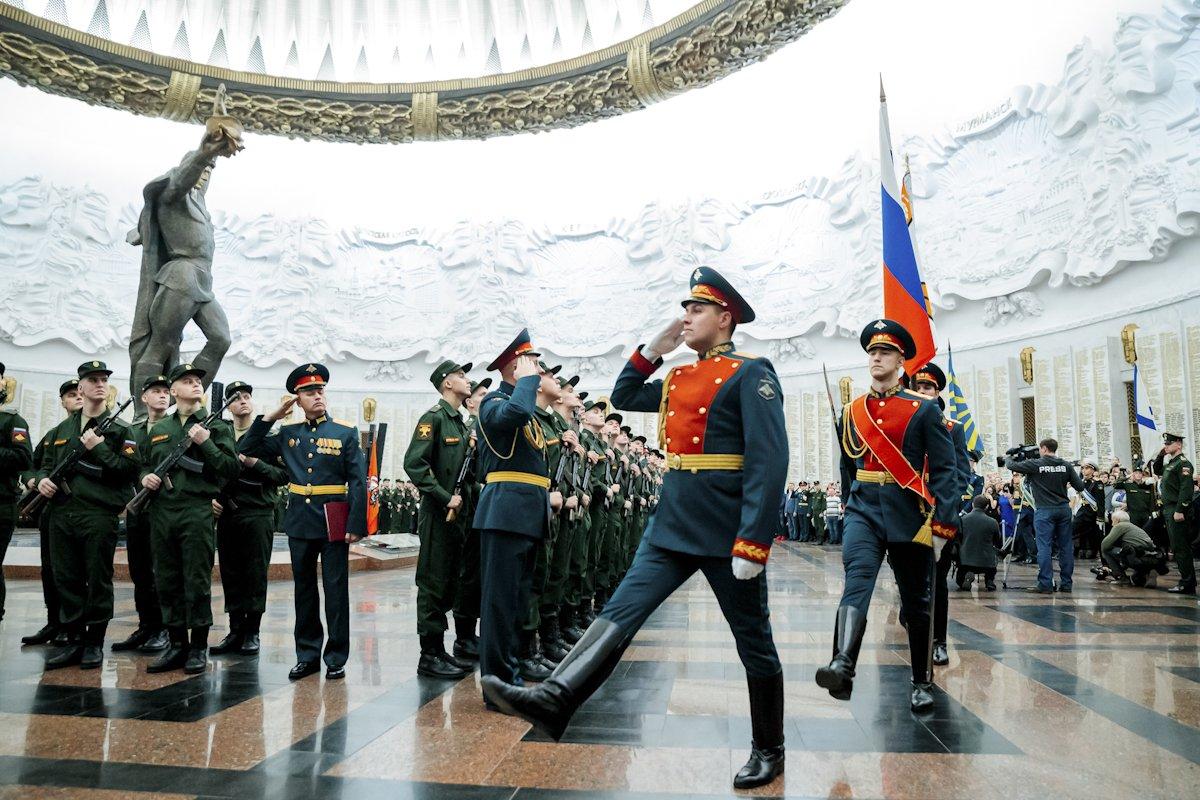 День сухопутных войск вМузее Победы 2020
