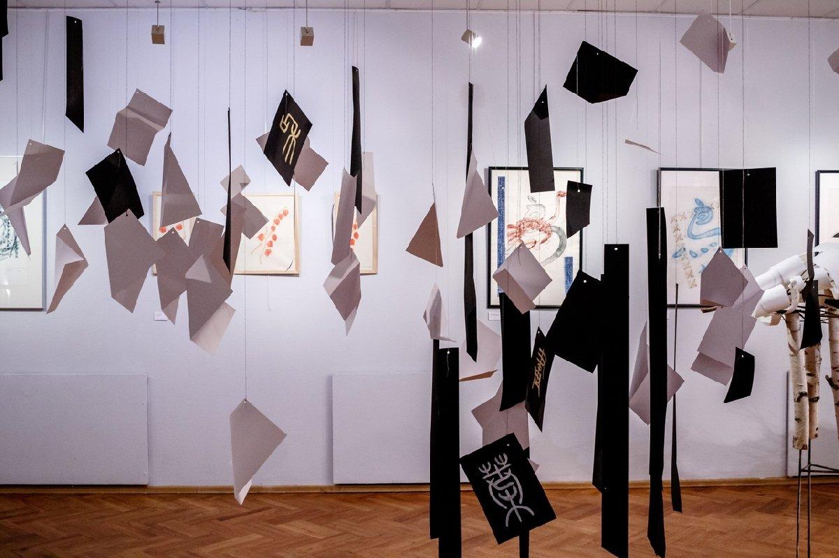 Выставка «О бумаге ине только »