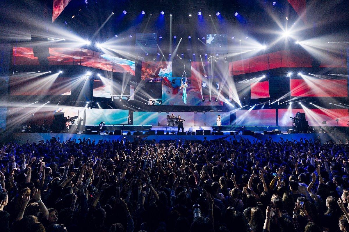 Концерты российских звезд в«Олимпийском» «Зачем молчать, когда есть голос!»