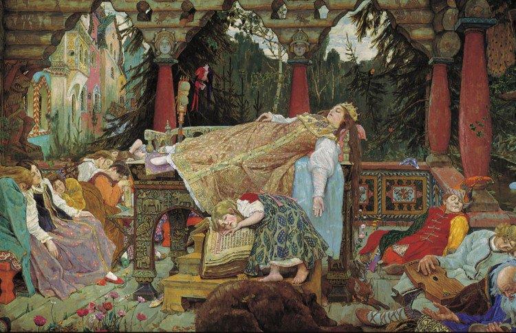 Выставка «Спящая царевна» В.М. Васнецова. История одного шедевра»