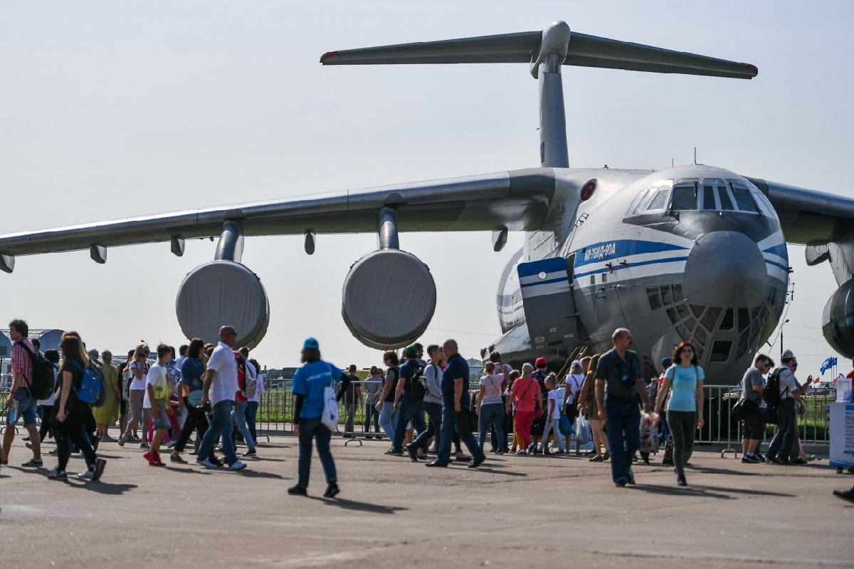 Международный авиационно-космический салон «МАКС 2021»