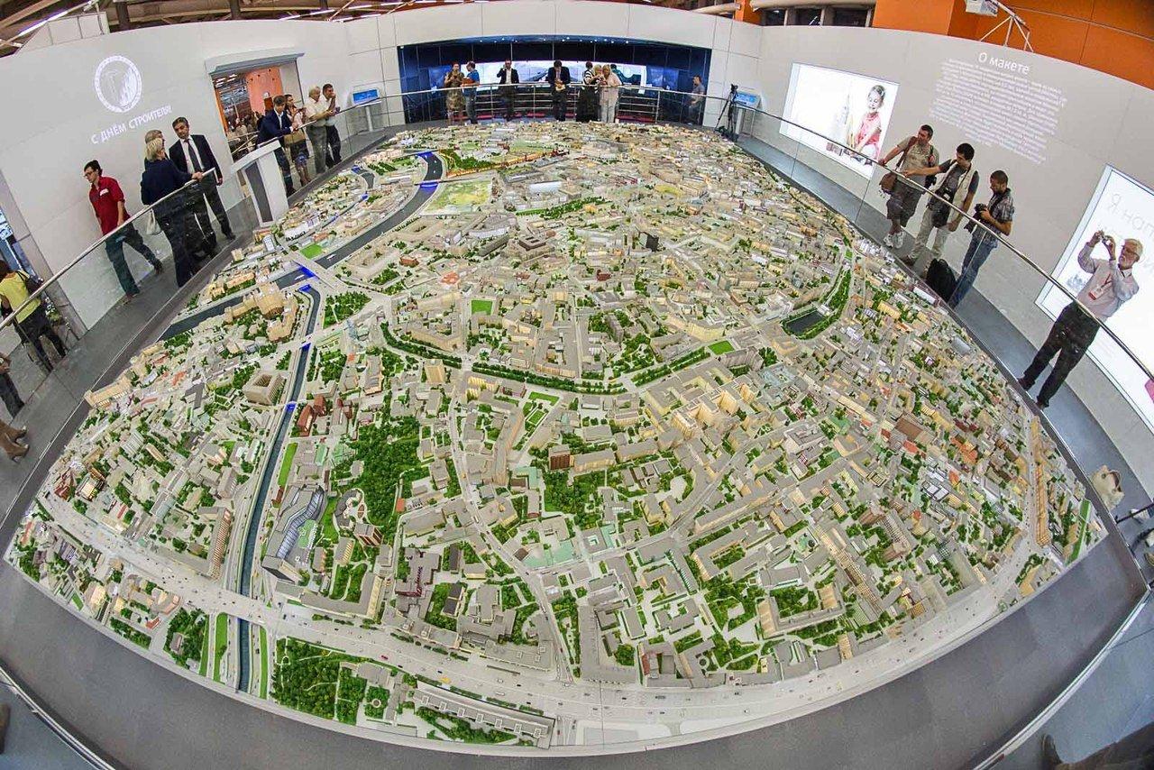 Выставка «Москва вминиатюре»