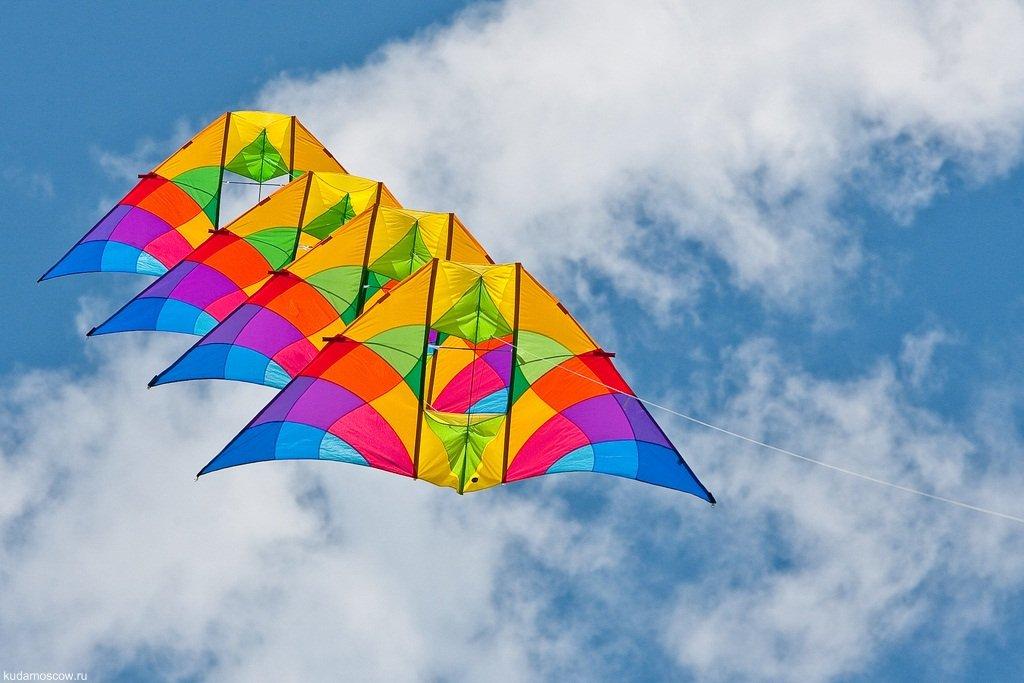 Фестиваль воздушных змеев «Пестрое небо» 2016