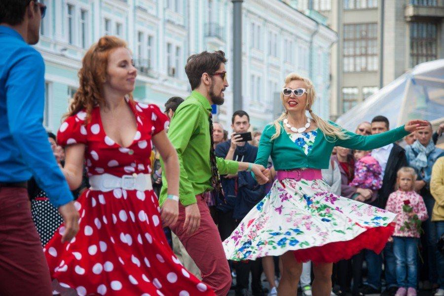 День города Москвы наТверской улице 2017