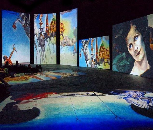 Выставка «Дали— Живые сны»