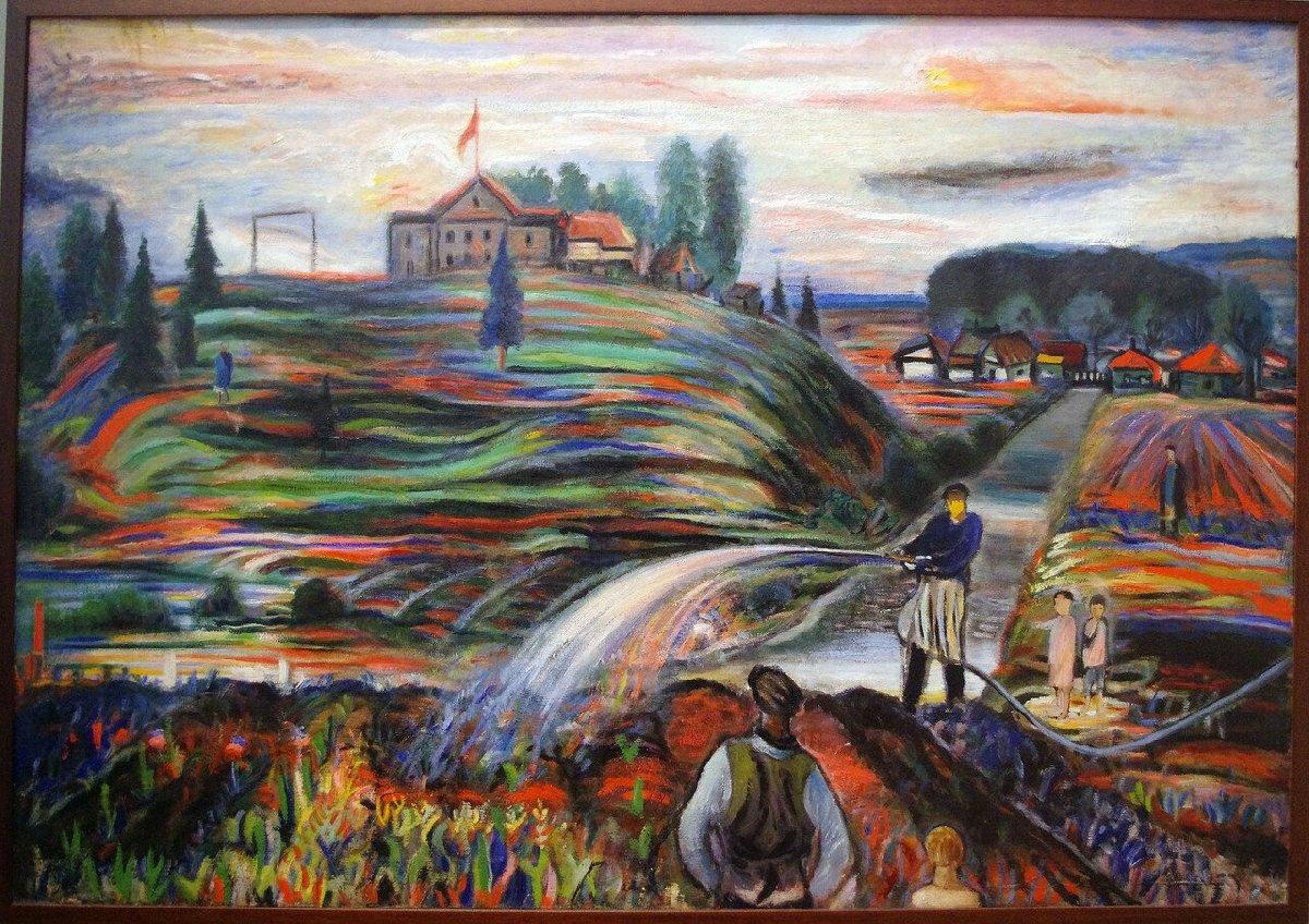 Выставка «Головой остену. Живопись играфика Б.А. Голополосова 1920–1930-х годов»