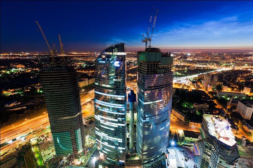 Экскурсия на54-й этаж смотровой площадки Москва-Сити