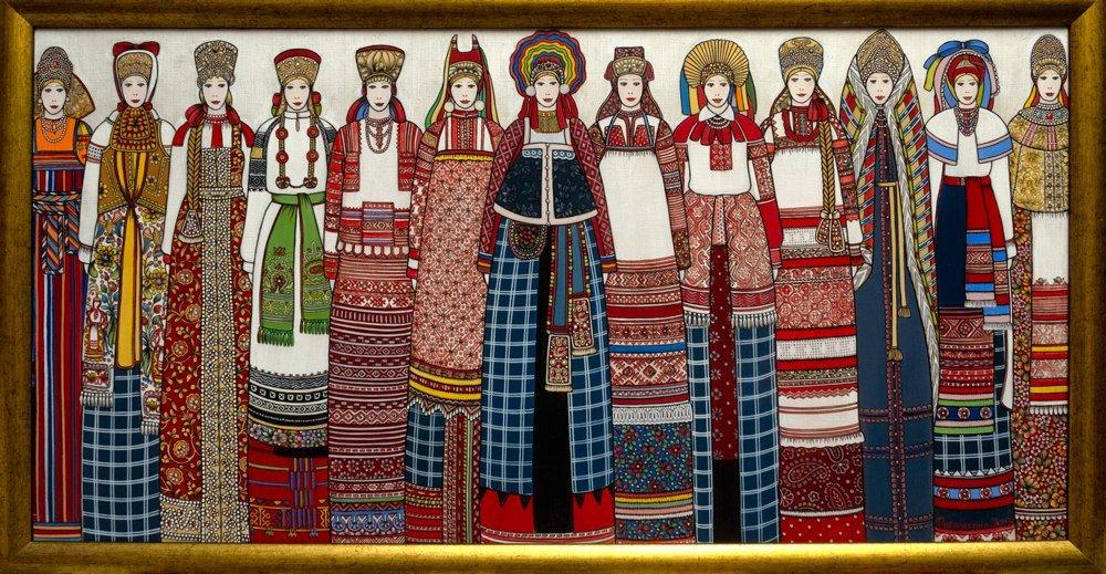Выставка «Я люблю тебя, Россия »