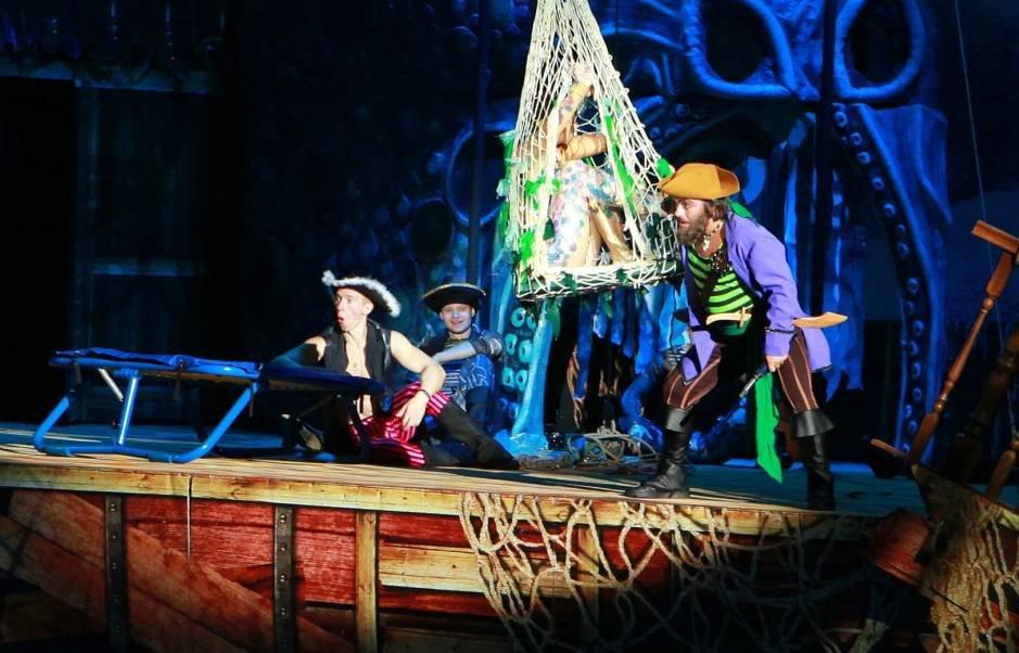 Цирковое шоу «Пираты изатерянный остров» 2019/2020