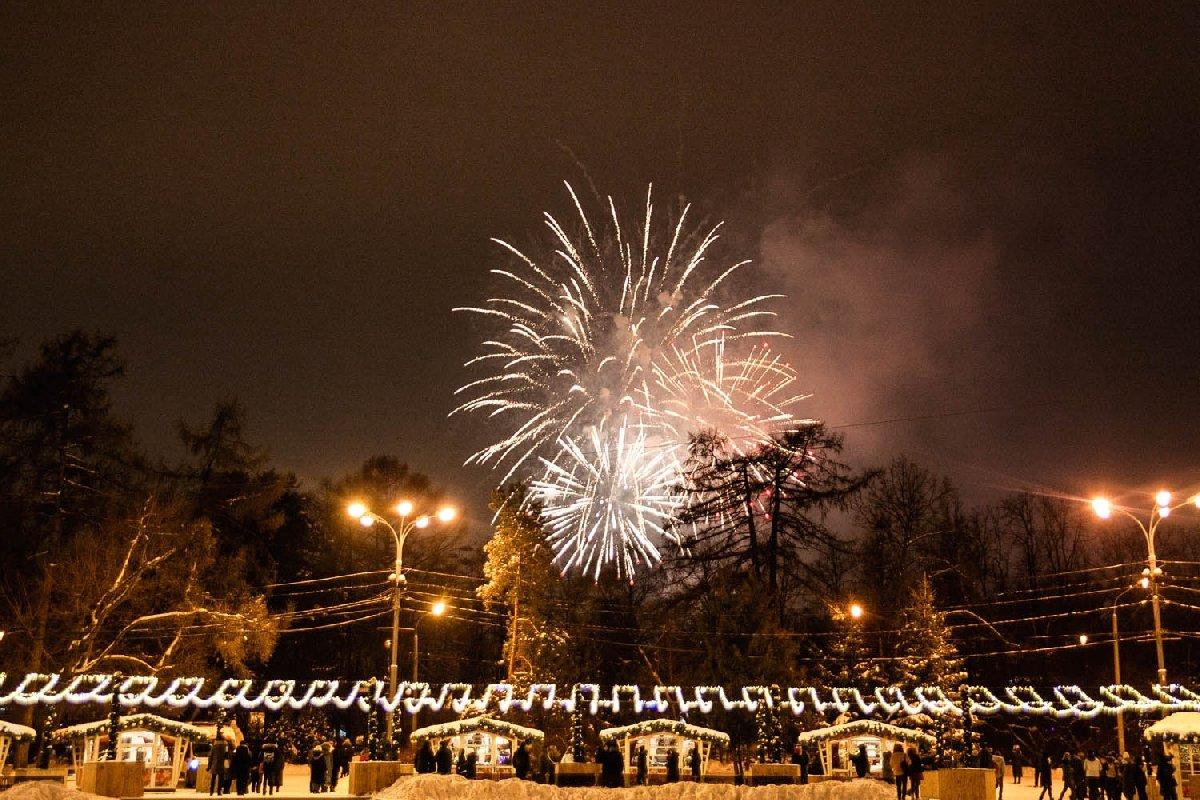 Новогодняя ночь впарке «Сокольники» 2020