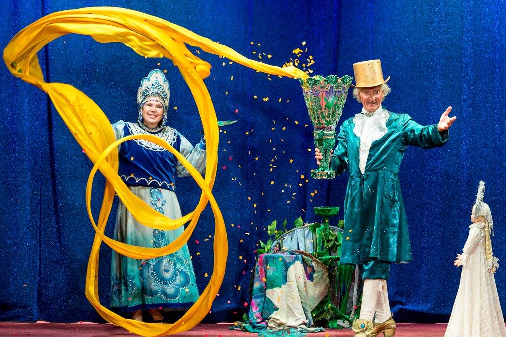 Семейное иллюзионное шоу «Звезды Магии» 2016