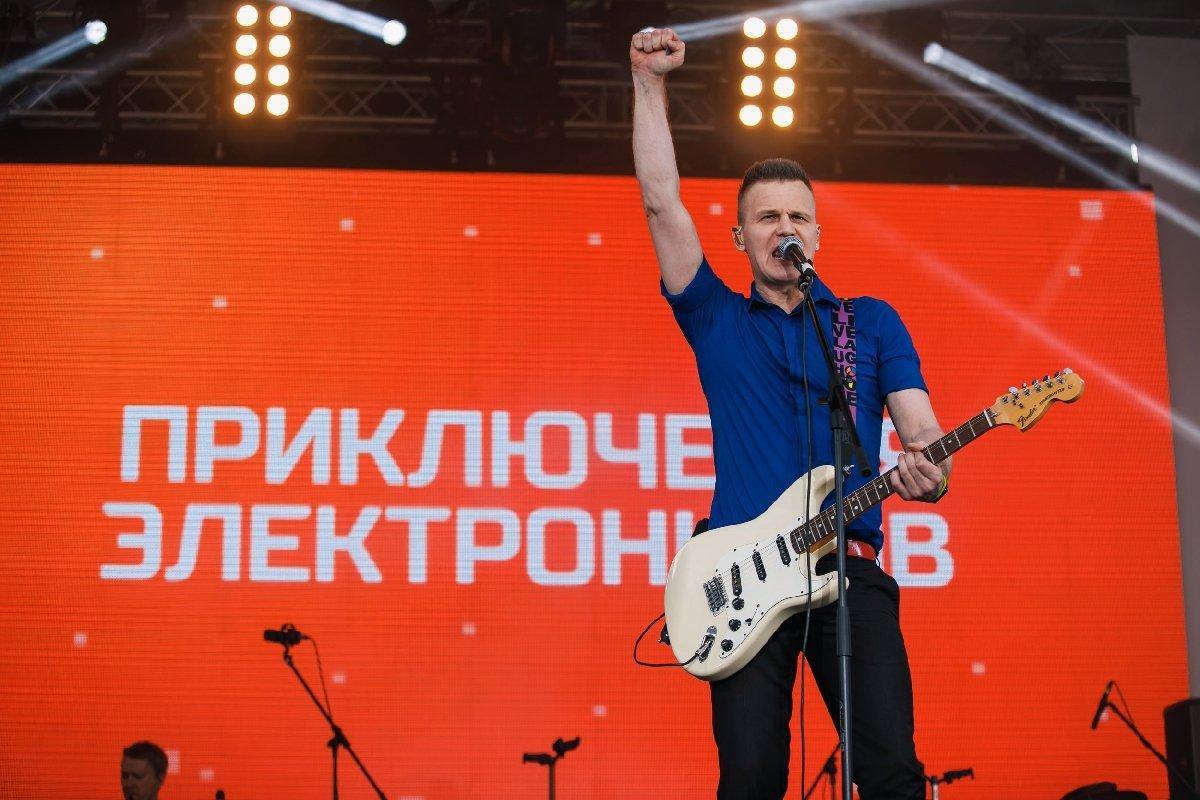 День города Москвы вместе сРЕН ТВ2018