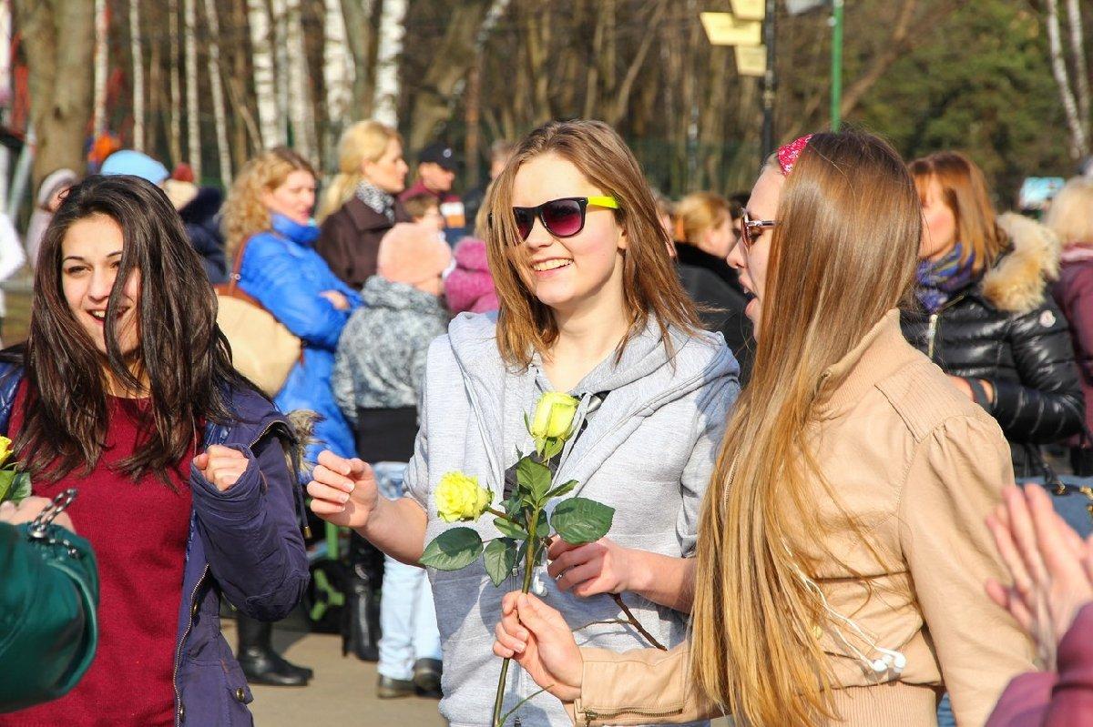 8 марта впарке «Кузьминки» 2017