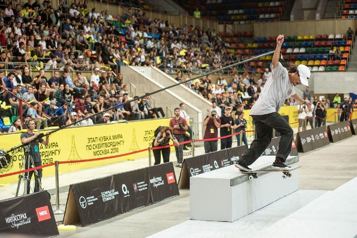 Международный турнир поскейтбордингу «Moscow Skateboarding Open 2019»