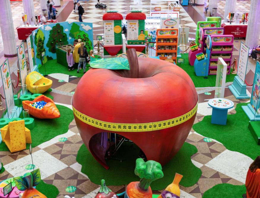 Интерактивная выставка «Здоровая еда супергероев» вЦДМ наЛубянке