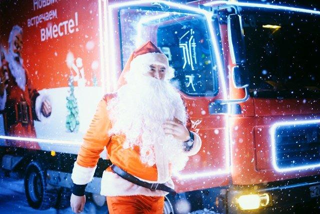Рождественский Караван Coca-Cola в«Кузьминках» 2017