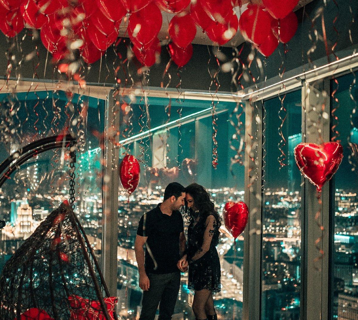 Романтическое свидание на67 этаже