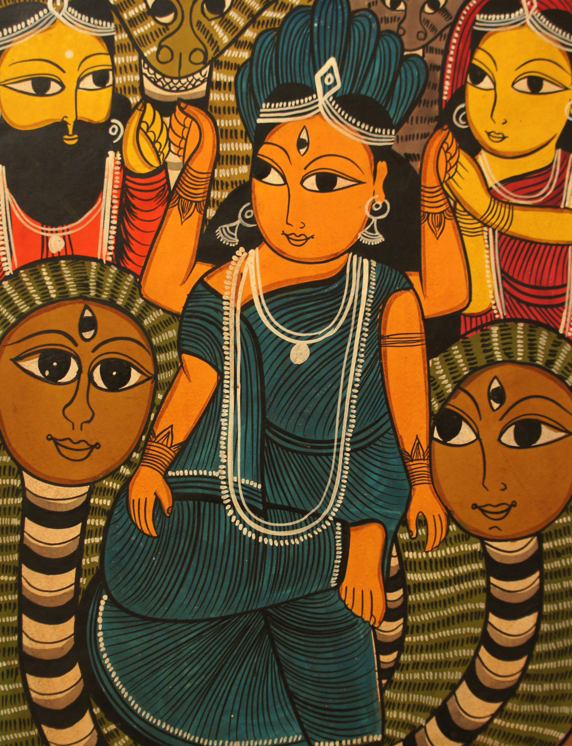 Выставка «Дыхание Индии»