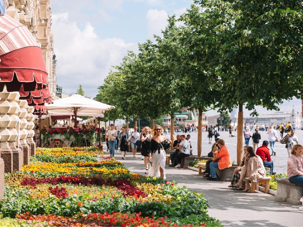 Фестиваль цветов вГУМе 2021