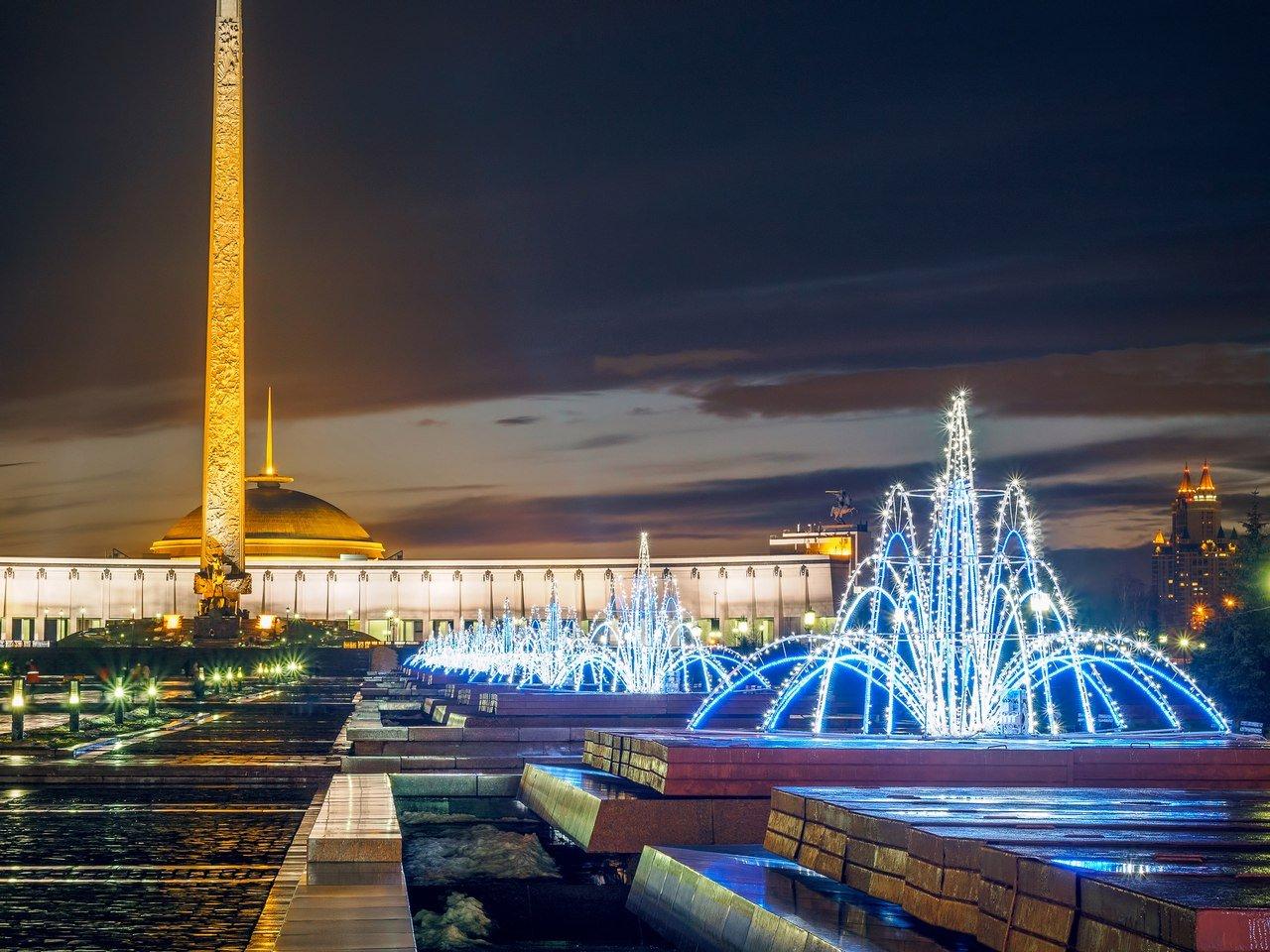 Новогодняя ночь 2016 вПарке Победы наПоклонной горе