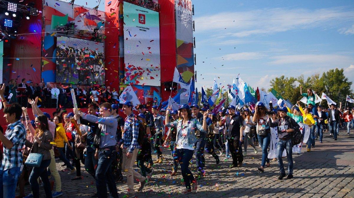 Парад московского студенчества 2019