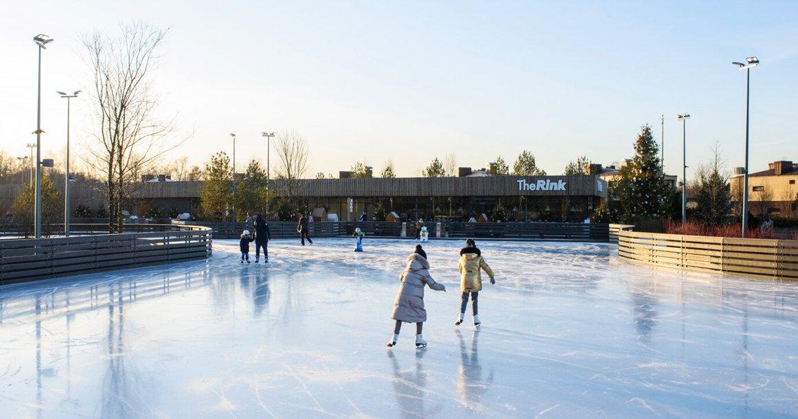 Каток «The Rink» вСколково 2020–2021