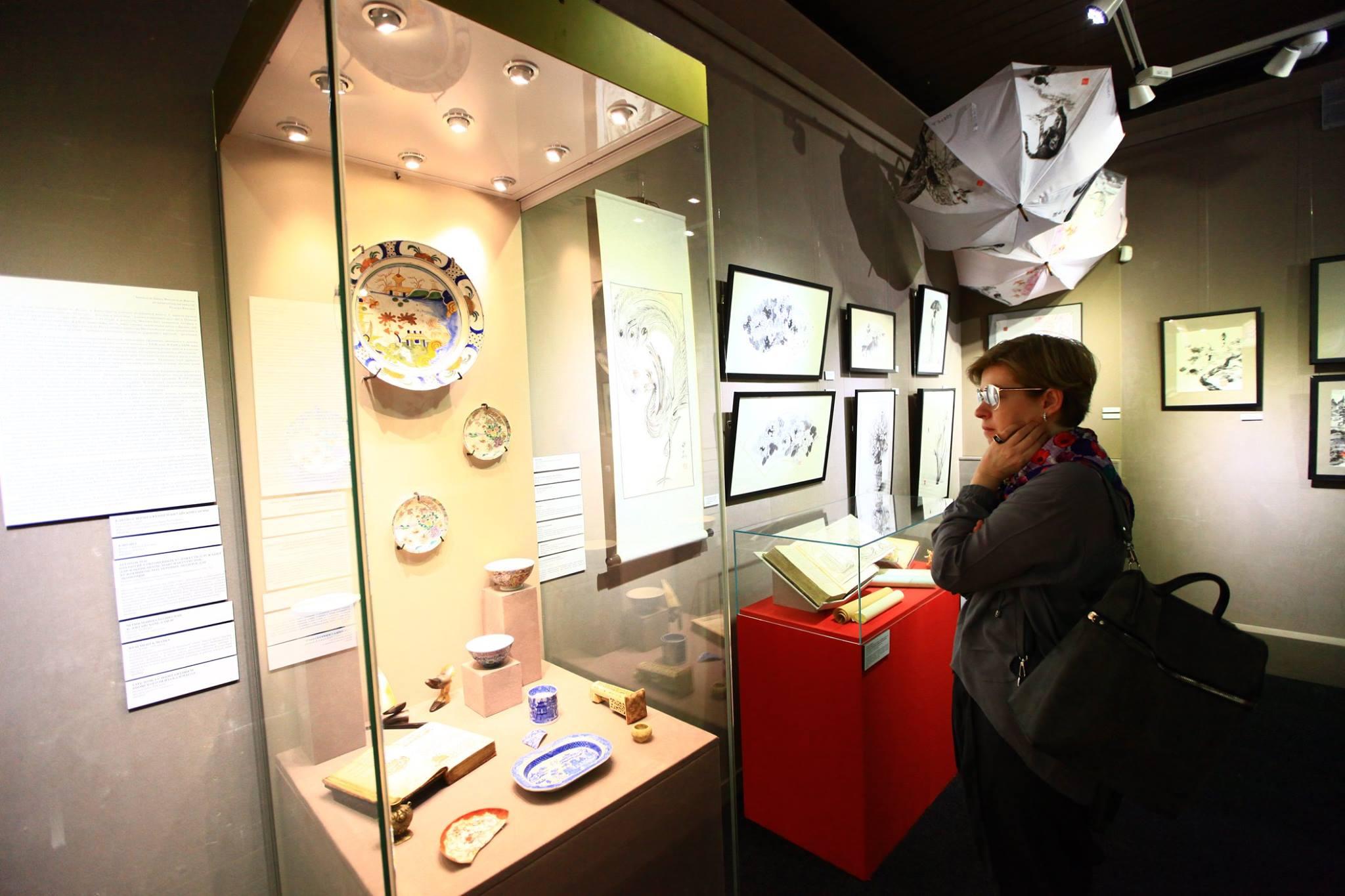 Выставка «Туш для туши»