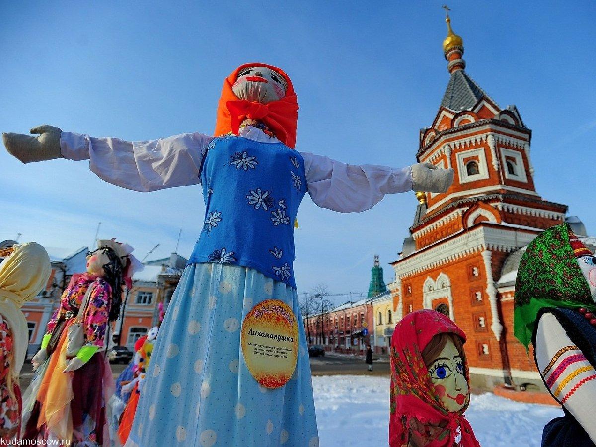 Масленичные гуляния впарках Москвы 2018